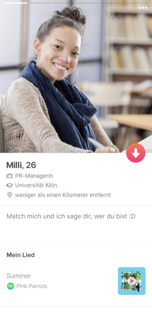 tinder: Kein Kuss beim ersten Date