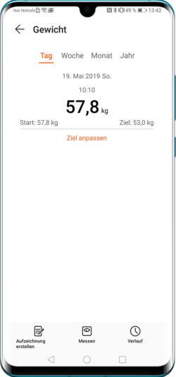 03-2_huawei-fitness-gewicht+ziel-übersicht