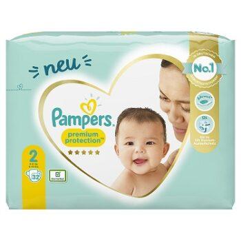 Pampers Premium Protection Windeln - Größe 2: Jetzt bestellen