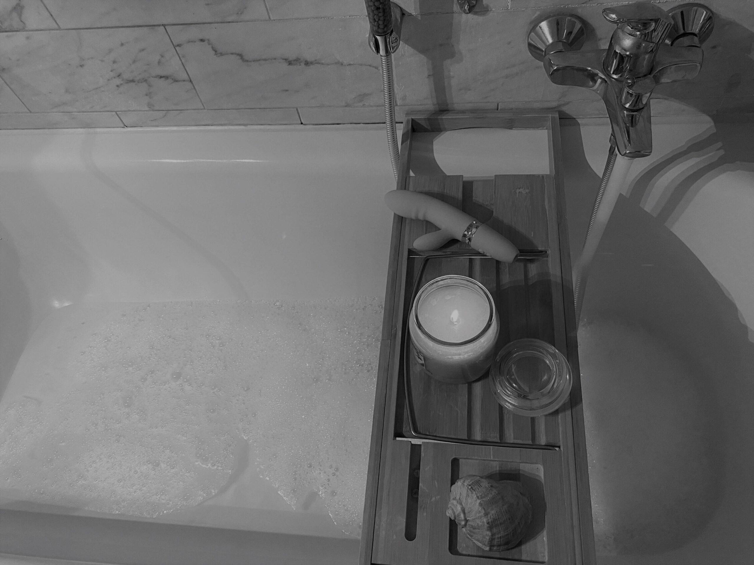 Ein sinnliches Verwöhnprogramm in der Badewanne