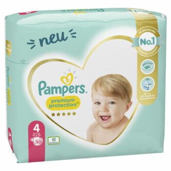 Pampers Premium Protection Windeln - Größe 4: Jetzt bestellen