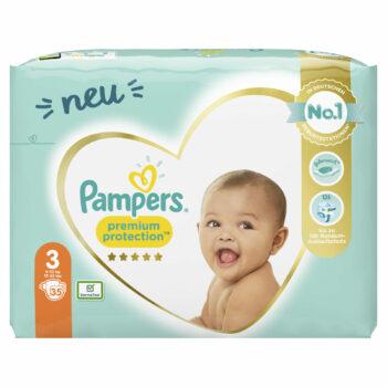 Pampers Premium Protection Windeln - Größe 3: Jetzt bestellen