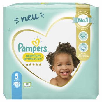 Pampers Premium Protection Windeln - Größe 5: Jetzt bestellen