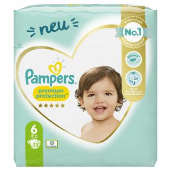 Pampers Premium Protection Windeln - Größe 6: Jetzt bestellen